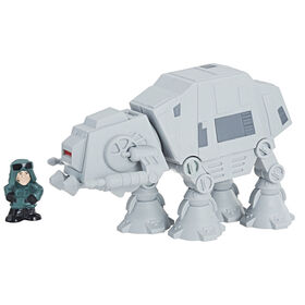 Star Wars Micro Force - Ensemble marcheur AT-AT et commandant d'AT-AT