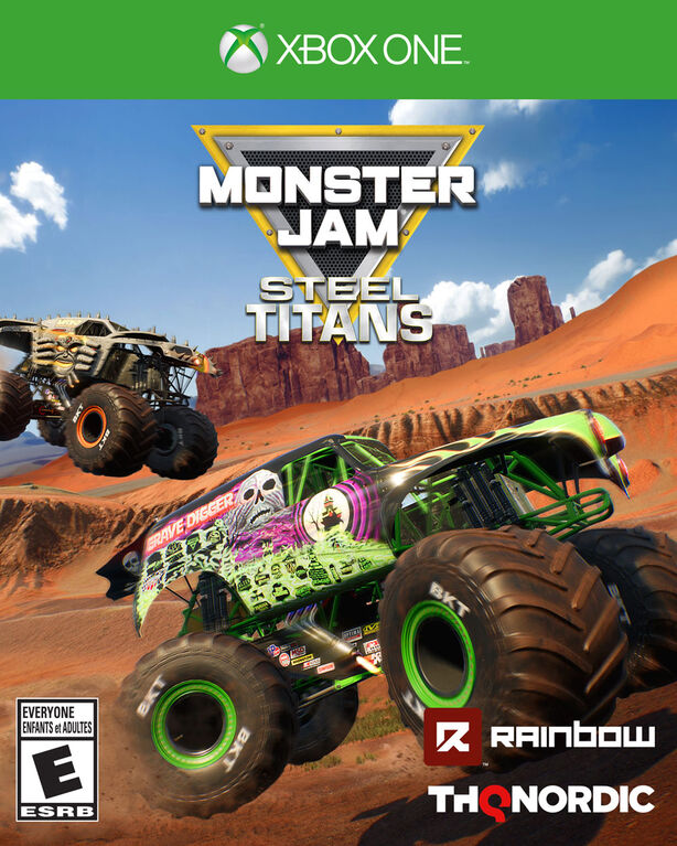 Xbox One Monster Jam Steel Titans