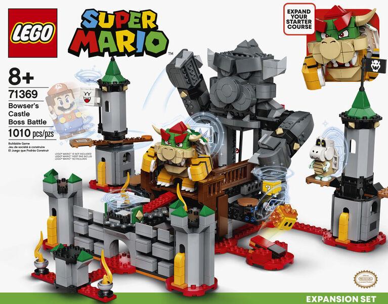 LEGO Super Mario Bowser's Castle Boss Battle Expansion Se 71369