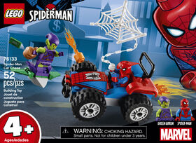LEGO Super Heroes Spider-Man et la course poursuite en voi 76133
