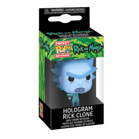 Funko POP! Keychain Animation: Rick and Morty - Hologram Rick Clone - English Edition