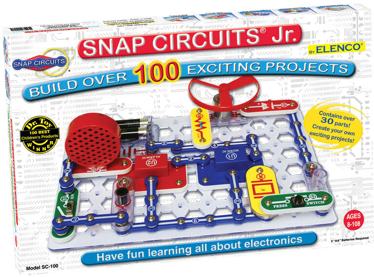 Snap Circuits Jr - Coffret 100 Experiments