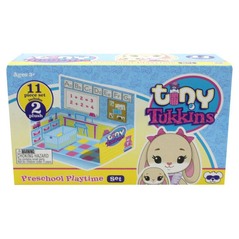 Tiny Tukkins Récréation Préscolaire, Ensemble de Départ - Lapins