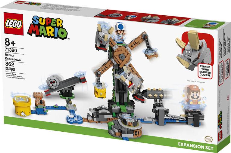 LEGO Super Mario Ensemble d'extension Le renversement de Reznor 71390