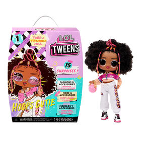 PRE-ORDER, SHIPS JUL 7, 2021 - LOL Surprise Tweens Fashion Doll Hoops Cutie