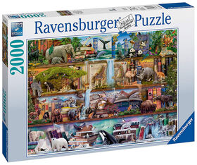 Ravensburger Aimee Stewart: Wild Kingdom Shelves 2000 Piece Jigsaw Puzzle
