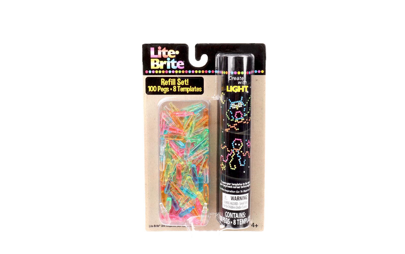 photograph regarding Printable Lite Brite Templates referred to as Lite-Brite Refill Pack