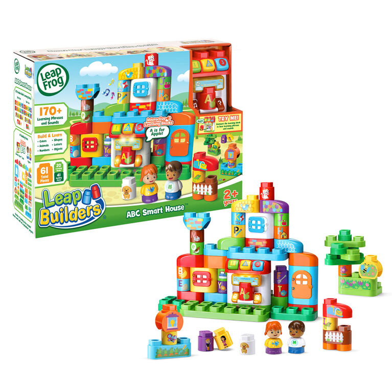 LeapFrog LeapBuilders ABC Smart House - English Edition