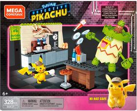 Mega Construx Detective Pikachu Hi -Hat Café