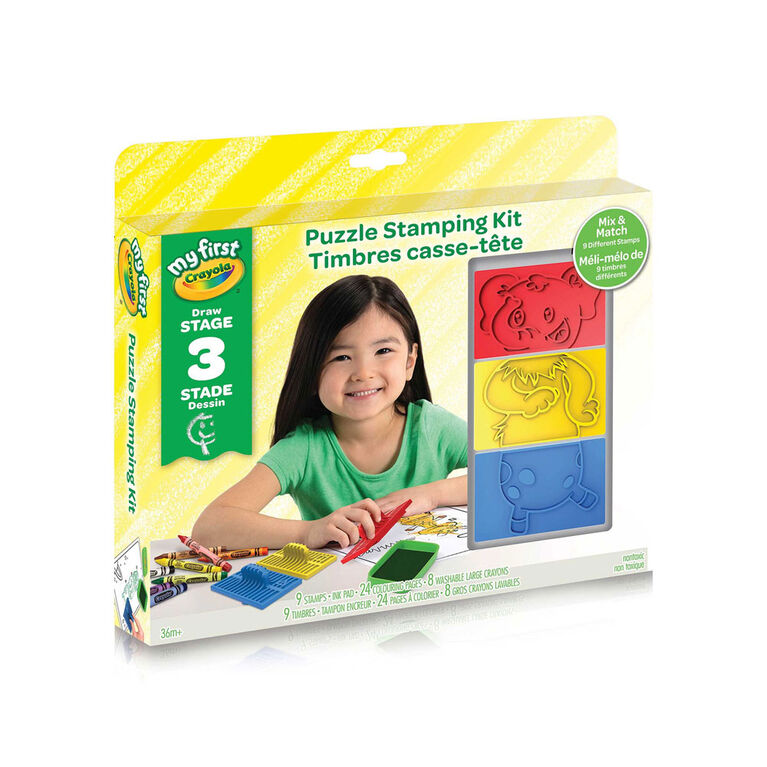 My First Crayola Puzzle Stamping Kit
