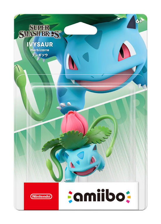 amiibo - Ivysaur - Super Smash Bros. Series