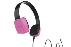 Kenu Groovies On-Ear Kids Headphones - Pink