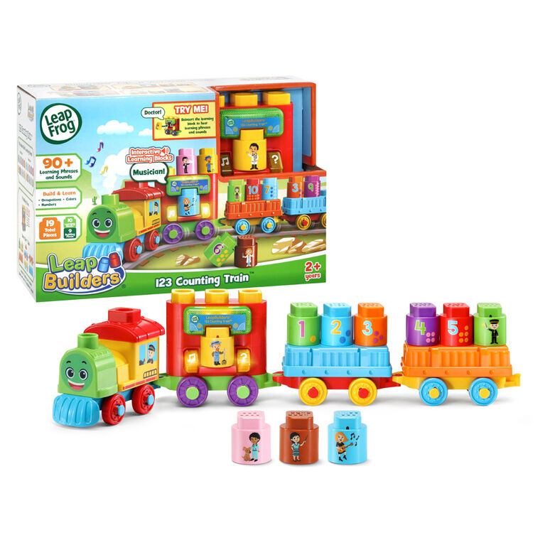 LeapFrog LeapBuilders 123 Counting Train - English Edition
