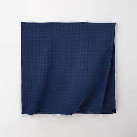 soft swaddle blanket, o/s - dark blue