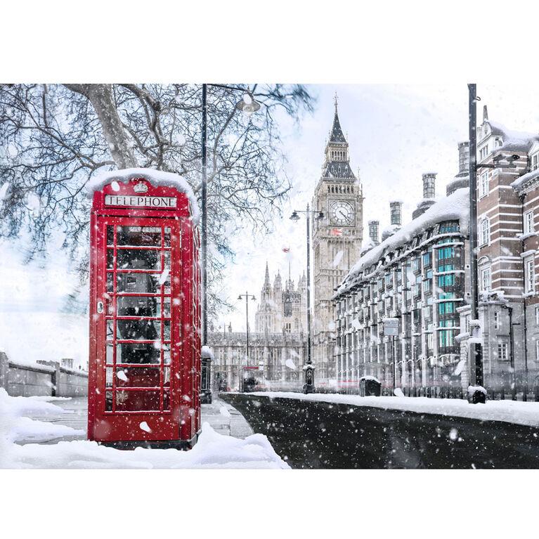Scratch Off: Puzzles de la série étet à hiver – Big Ben (England) - 500 pièces