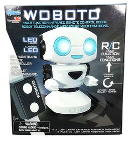 Monzoo - Woboto télécommandé avec yeux illuminés (avec manette bracelet).