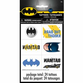 Batman Tattoos, 24 pieces