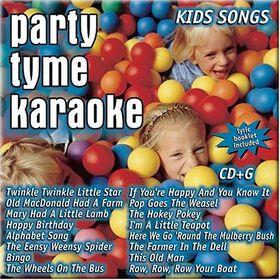 Party Tyme Karaoke - Kids Songs