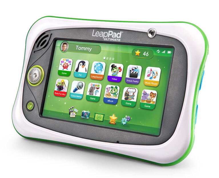 LeapFrog LeapPad Ultimate Ready for School Tablet - Green - English Edition