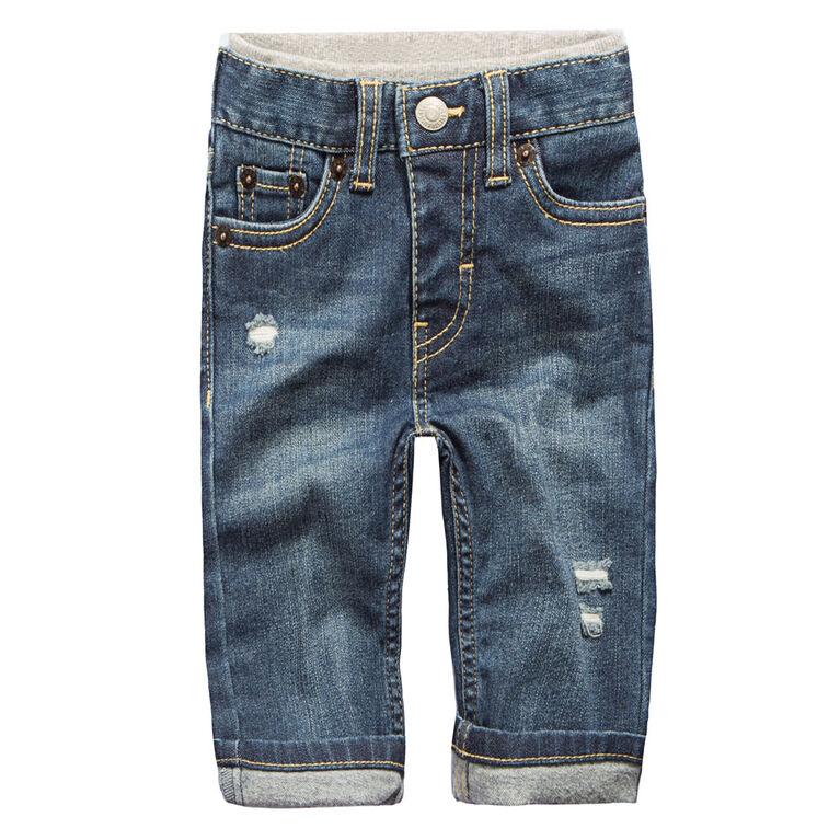 Levis Pantalon en Denim- Bleu, 24 Mois