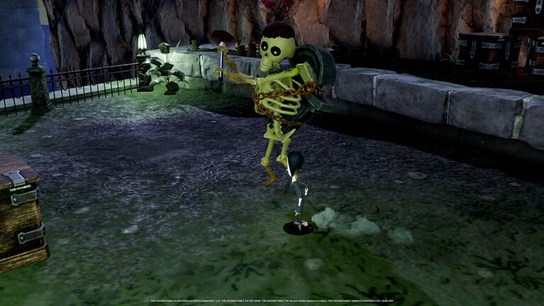 Xbox - The Addams Family Mansion Mayhem