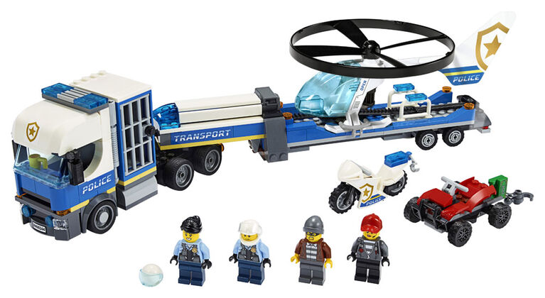 LEGO City Police Helicopter Transport 60244