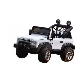 Courage Rider SUV 12V White