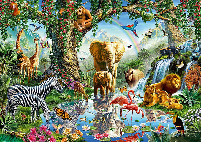 Ravensburger! Adventures in The Jungle Jigsaw Puzzle - 1000 Piece