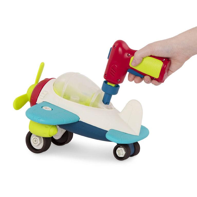 B. toys, Happy Cruisers - Take-Apart Airplane, Take-Apart Airplane