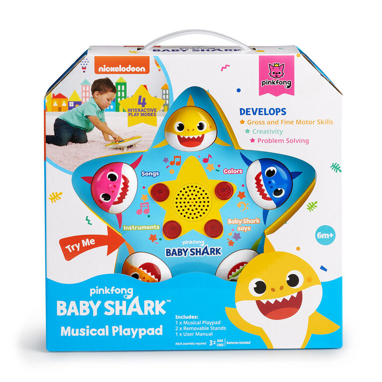 Pinkfong Baby Shark Official - Musical Playpad - English Edition