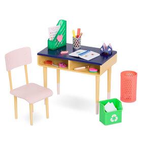 Our Generation, Brilliant Bureau Desk Set for 18-inch Dolls