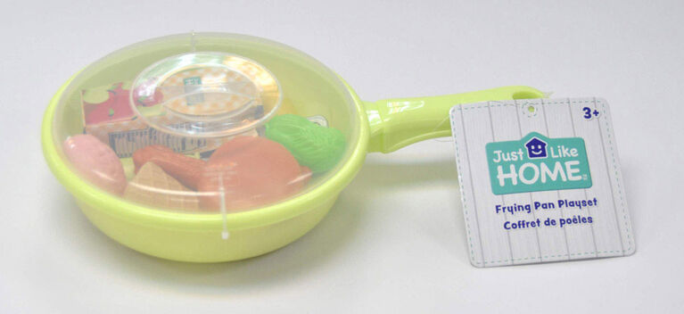 Just Like Home - Frying Pan Playset - Green - Dinner