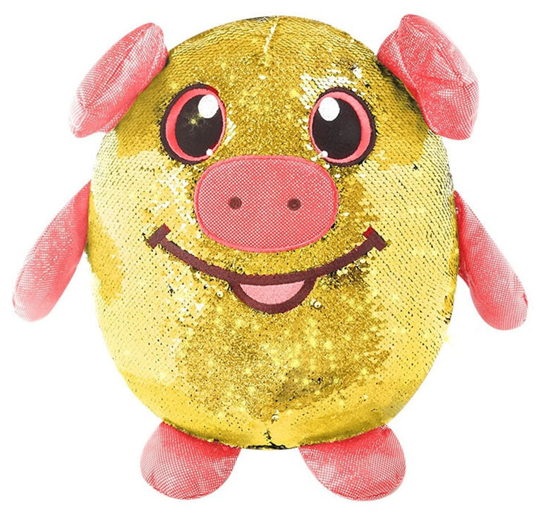 "Shimmeez - 8"" Medium Plush - Polly Pig"