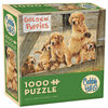 Golden Puppies 1000 Piece Puzzle
