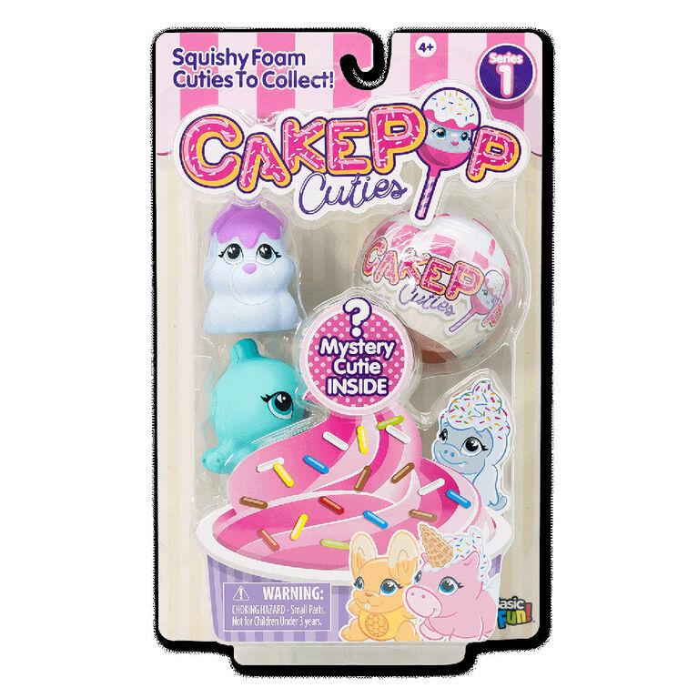 Cake Pop Cuties - 3 Pack - Styles Vary