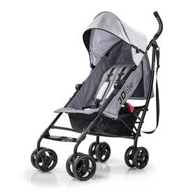 Summer Infant 3Dlite Convenience Stroller – Greys for Days