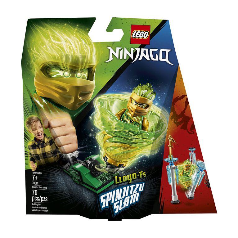 LEGO Ninjago Spinjitzu Slam - Lloyd 70681