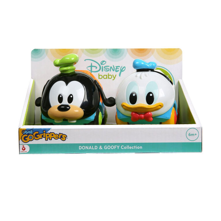 Disney Baby  Donald & Goofy Go Grippers 2-pack