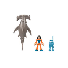 Fisher-Price Imaginext Hammerhead Shark & Snorkeler