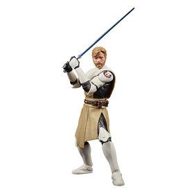 PRÉ-COMMANDE POUR EXPÉDITION LE 14 JUIN, 2021 - Star Wars The Black Series, figurine Obi-Wan Kenobi, 50e anniversaire Lucasfilm, Star Wars : The Clone Wars - Notre exclusivité