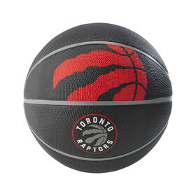 Mini ballon de basketball Spalding Toronto Raptors