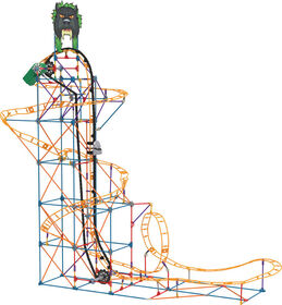 Panther Attack Roller  Coaster Building Set