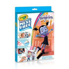 Crayola Vampirina, Mess Free Color Wonder Kit