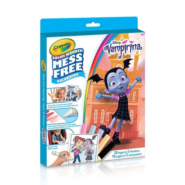 Crayola Vampirina, Mess Free Color Wonder Kit