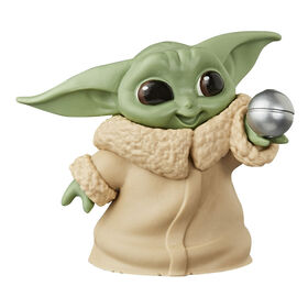 "Star Wars The Bounty Collection The Child Collectible Toy 2.2-Inch The Mandalorian ""Baby Yoda"" Ball Toy Pose Figure"