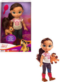 Spirit Untamed Toddler Lucky Doll & Spirit