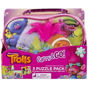 Trolls Carry and Go Puzzle Bag