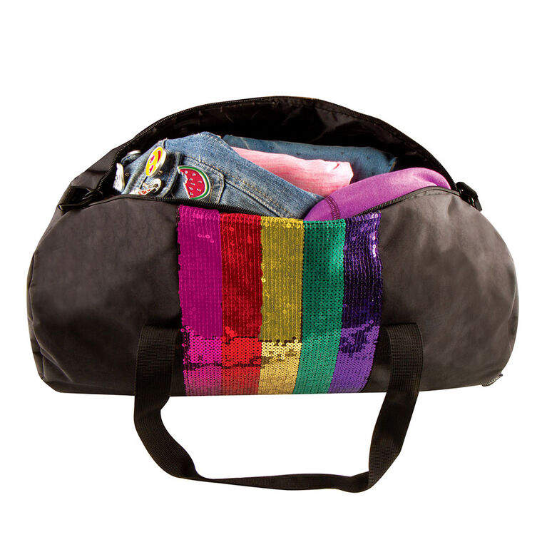 Fashion Angels - Rainbow Sequin Stripe Duffel
