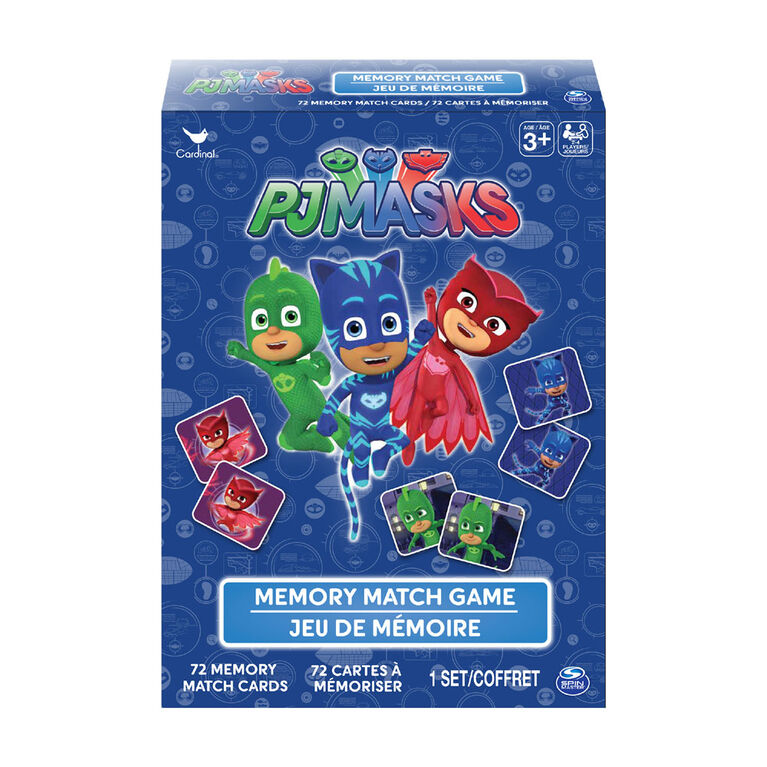 PJ Masks Memory Match Game