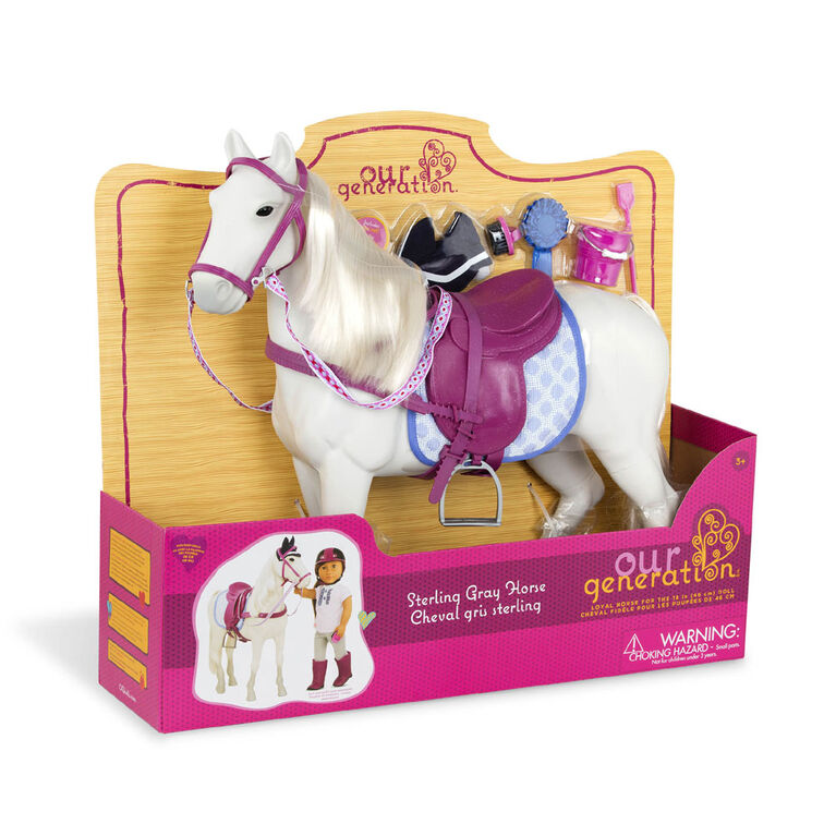 Our Generation, Sterling Gray Horse, 20-inch Horse